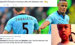 Vincent Kompany Banged Zabaleta's Wife & Other Lies On Social Media